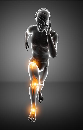 ランナーズニー 腸脛靭帯炎は【骨盤の回旋過多】が原因