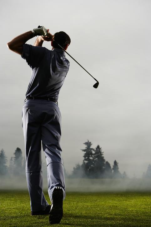 ゴルフ 左足の固定力と回旋力のバランス