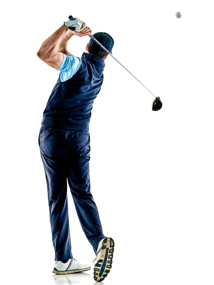 ゴルフ ダウンスイング時の腰の引っかかり感