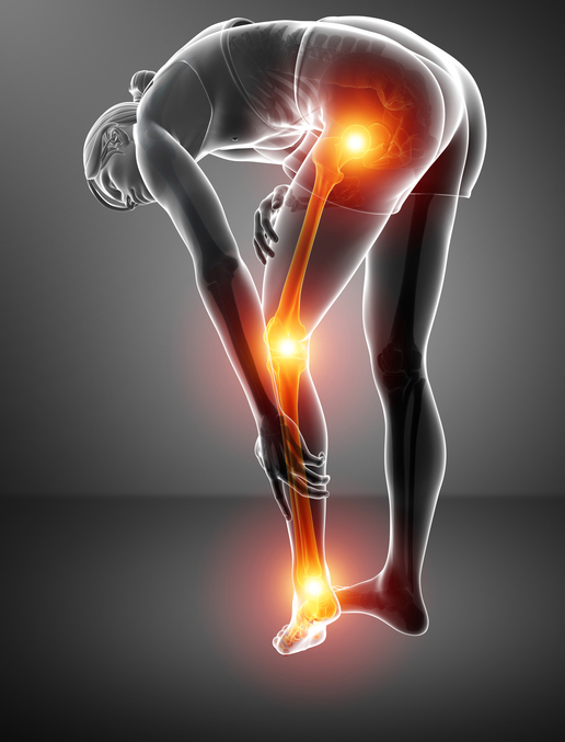 膝下のしびれ  坐骨神経を刺激する原因には仙腸関節の不安定が関与