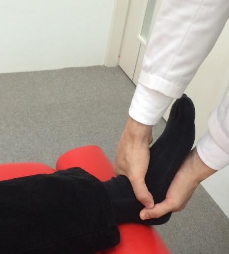 距腿関節の検査と調整