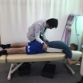 下部腰椎の調整