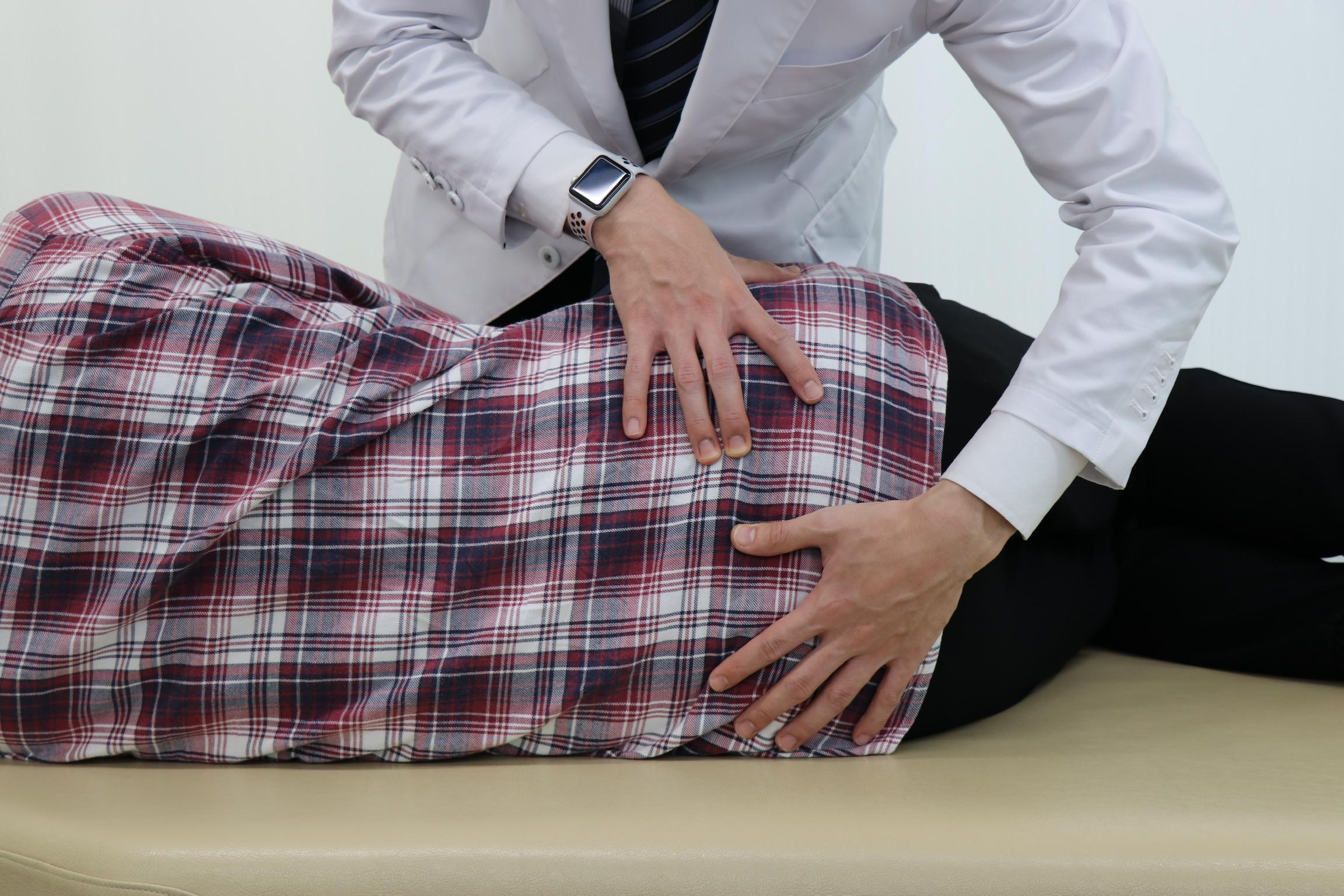 仙腸関節の調整